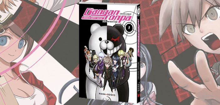 Critique livre – Danganronpa Trigger Happy Havoc : l'ourson pas si mignon…