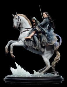 Weta Workshop présente sa nouvelle figurine d'Arwen et Frodon