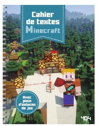 Mars-avril : du Minecraft, GoT et Fortnite chez 404 Editions !