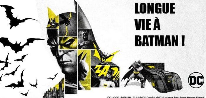 Batman fête ses 80 ans !