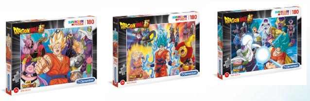 Dragon Ball Super Clementoni présente ses puzzles exclusifs et inédits !