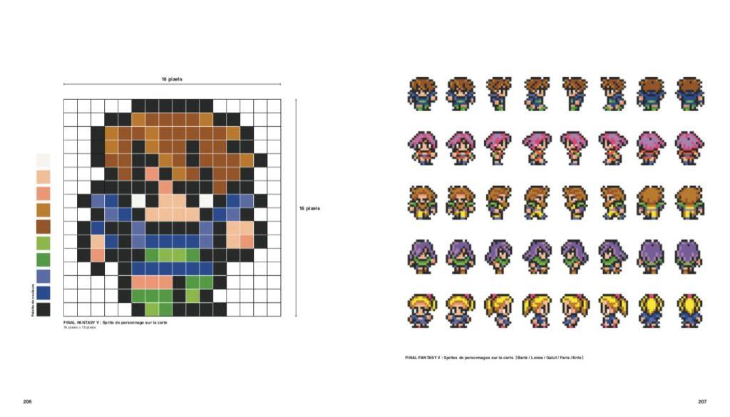 FF Pixel, découvre l'art du pixel de Final Fantasy !