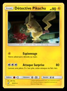 De nouvelles cartes inspirées du film «POKÉMON Détective Pikachu»