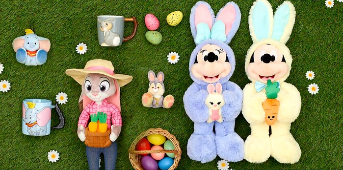 Pour Pâques, Disney présente sa chasse aux œufs et ses peluches !