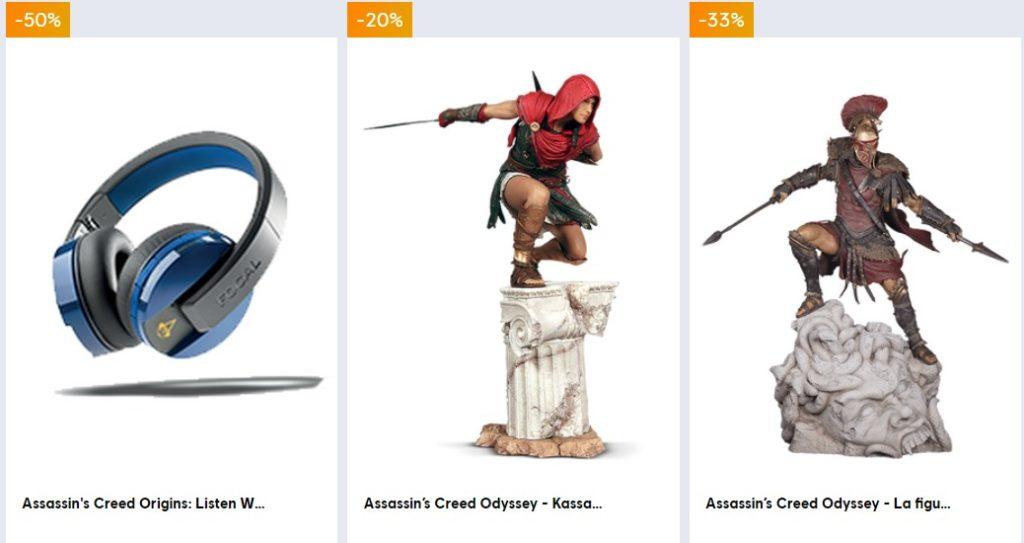 Ubisoft fait ses promos de printemps, jeux vidéo et produits dérivés_1