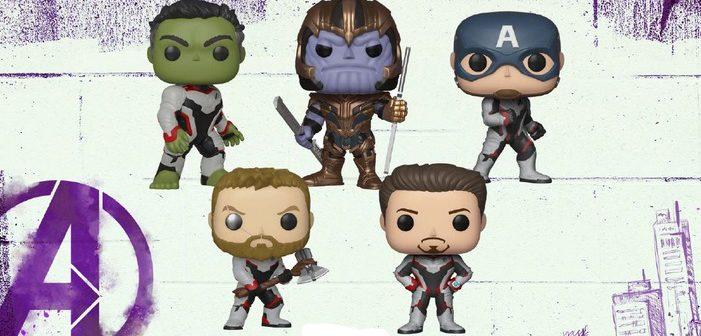 Avengers : Endgame, les produits dérivés officiels disponibles !