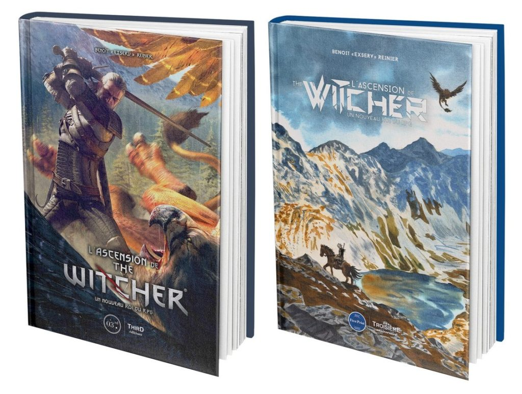 Le livre sur l'irrésistible ascension de The Witcher est disponible_L'ASCENSION DE THE WITCHER_CLASSIQUE_3D