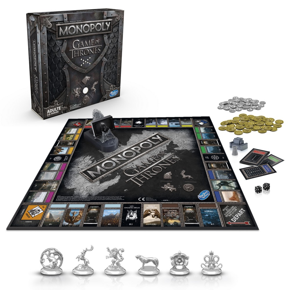 Monopoly Game of Thrones l'ultime saison_