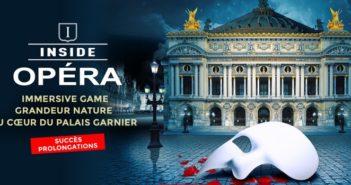 Opéra Garnier sur les traces du Fantôme de l'Opéra