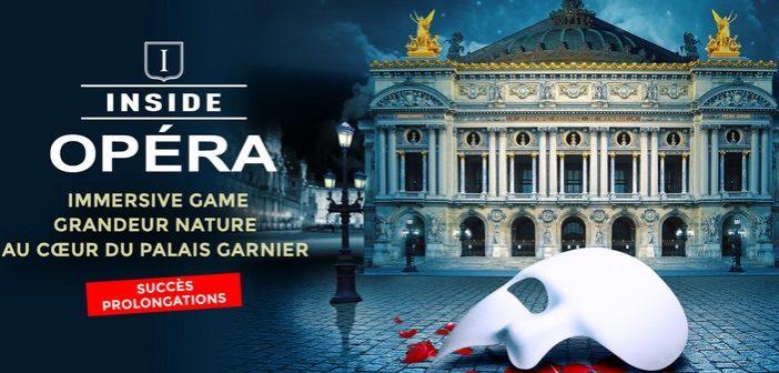 Opéra Garnier : sur les traces du Fantôme de l'Opéra