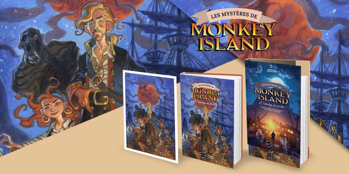 Third Éditions présente  de Les Mystères de Monkey Island !