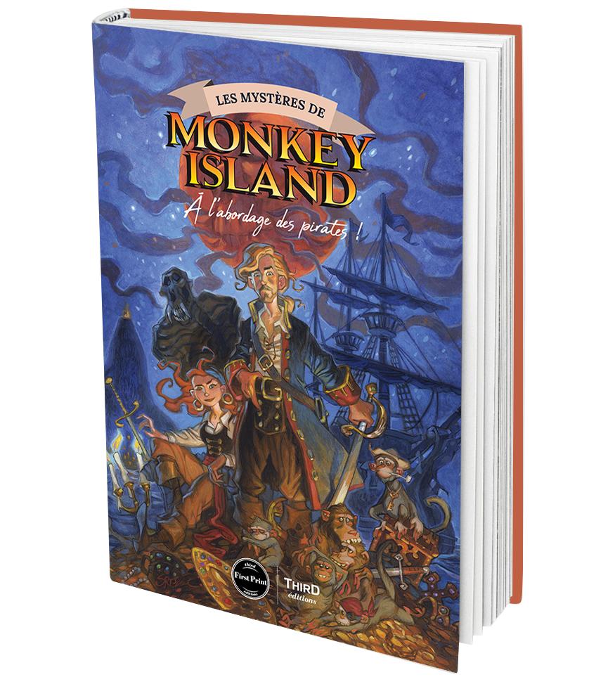 Third Éditions présente Les Mystères de Monkey Island !
