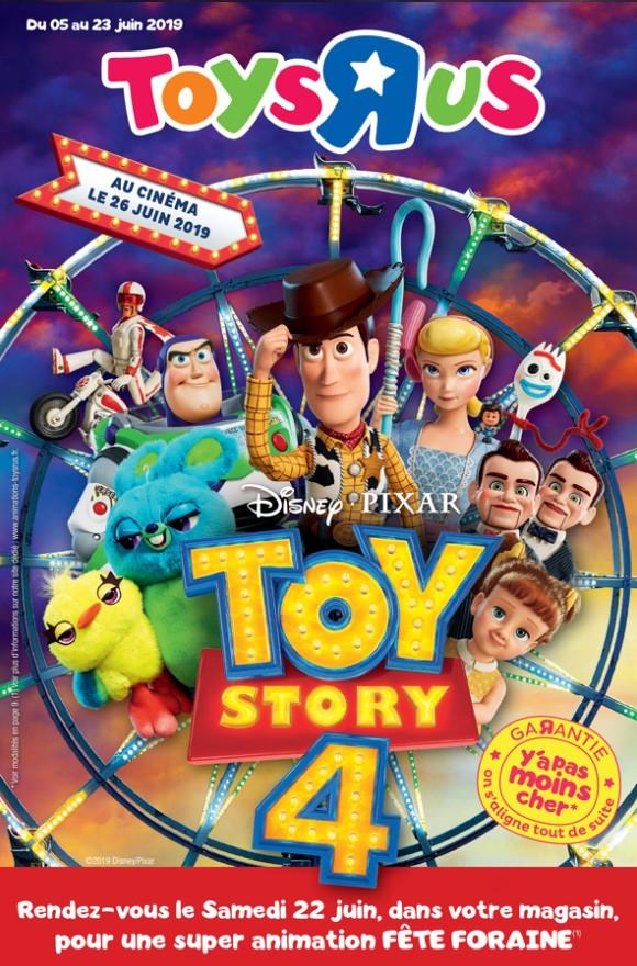 Toy Story 4 Toys'R'Us présente les jouets dédiés !
