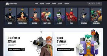 Warner Bros. lance la première boutique en ligne française spéciale DC Comics_