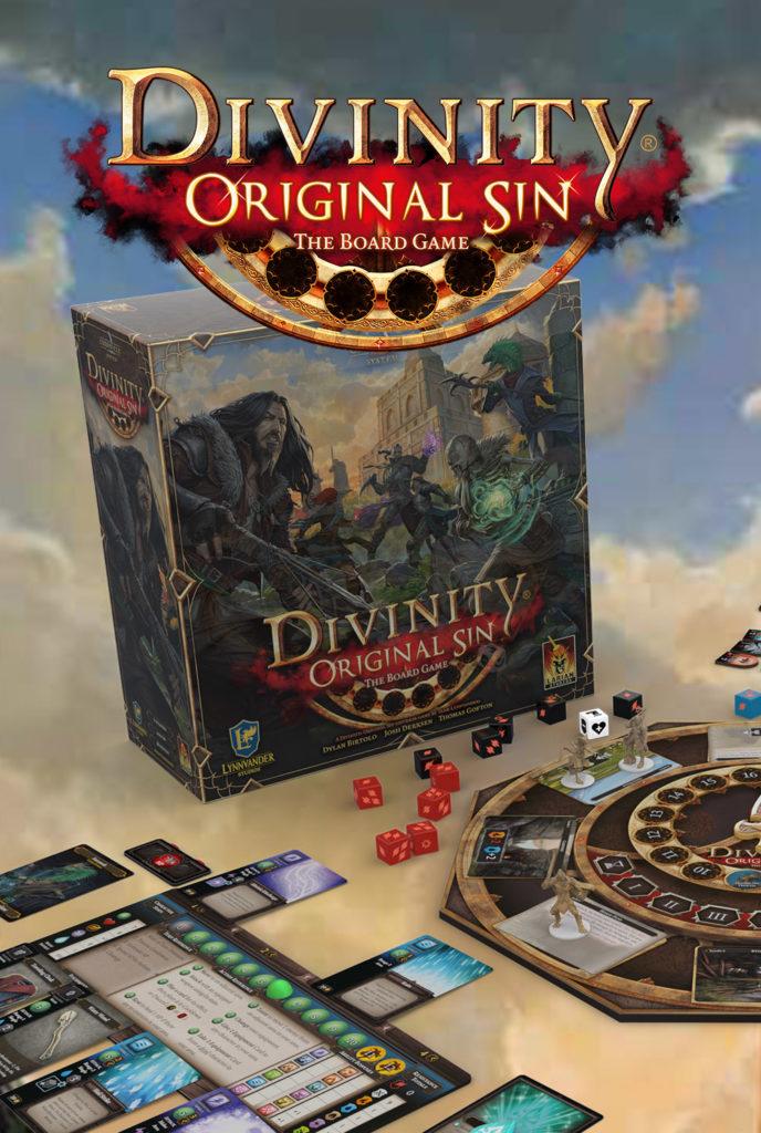 Divinity Original Sin 2, le plateau de jeu financé sur Kickstarter en 4h_boîte de jeu
