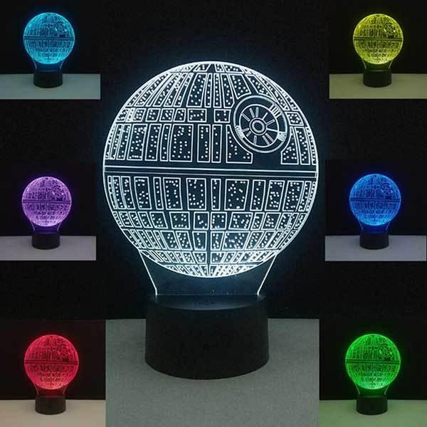 La lampe Star Wars Étoile de la Mort