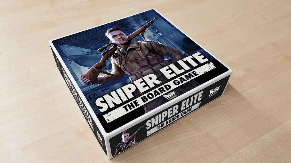 Rebellion Unplugged dévoile Sniper Elite, le jeu de société!_boîte de jeu