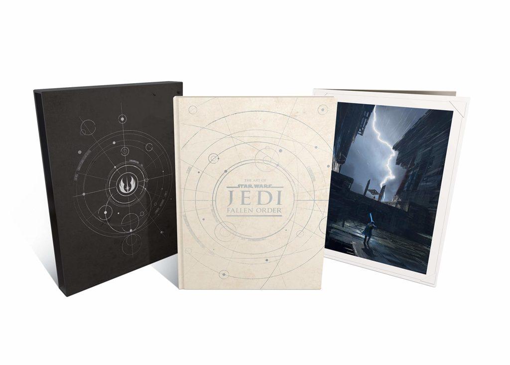 Le livre relié The Art of Star Wars Jedi - Fallen Order