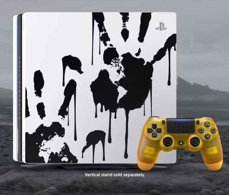 PS4 pro Death Stranding _PS4/ manette