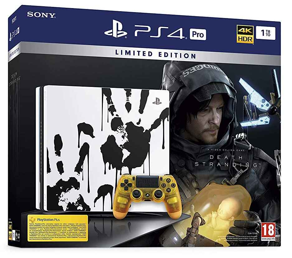 PS4 pro Death Stranding_pack bundle