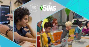 Ironhack et Les Sims s'associent pour créer une bourse d'étude !