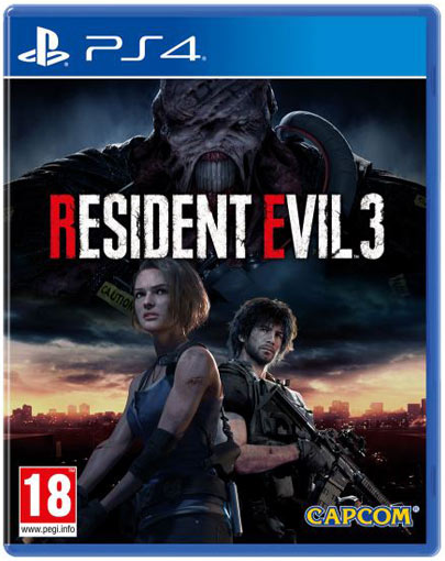 Resident Evil 3 la France aura aussi le droit à l'édition collector_ jaquette du jeu