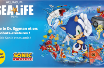 L'aquarium Sea Life Paris Val d'Europe accueille Sonic et ses amis !