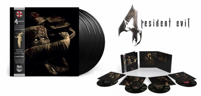 Le vinyle de Resident Evil 4 bientôt dans les bacs !