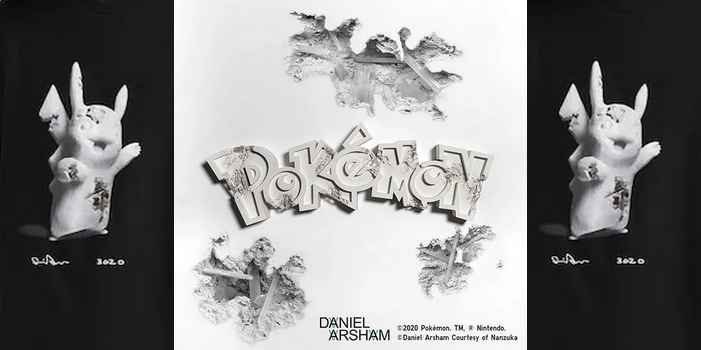 UT Daniel Arsham x Pokémon la collection de vêtements UNIQLO