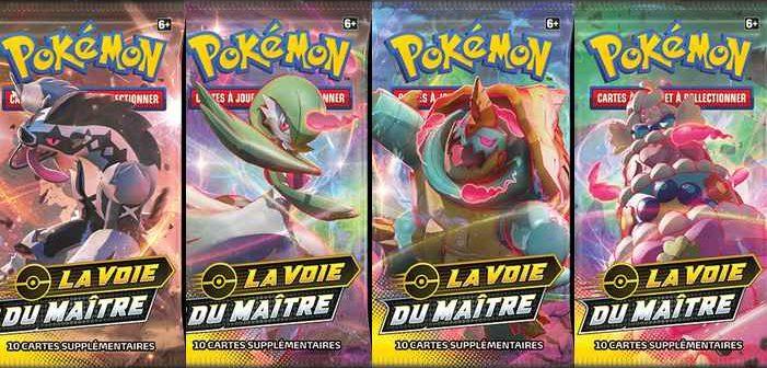 L Extension La Voie Du Maitre Arrive Dans Le Jeu De Cartes A Collectionner Pokemon La Vie Du Derive
