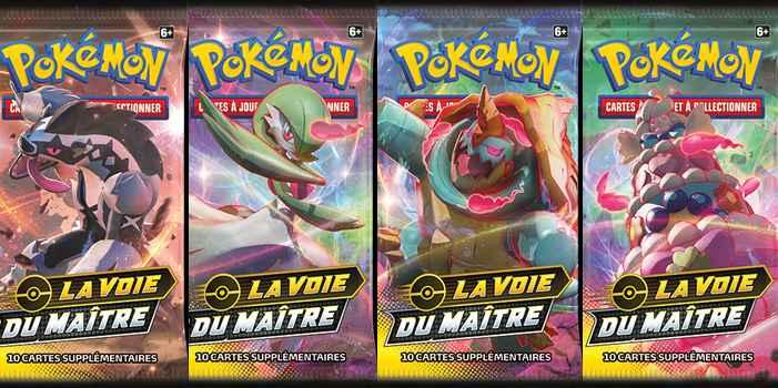 L'extension La Voie du Maître arrive dans le Jeu de Cartes à Collectionner Pokémon !