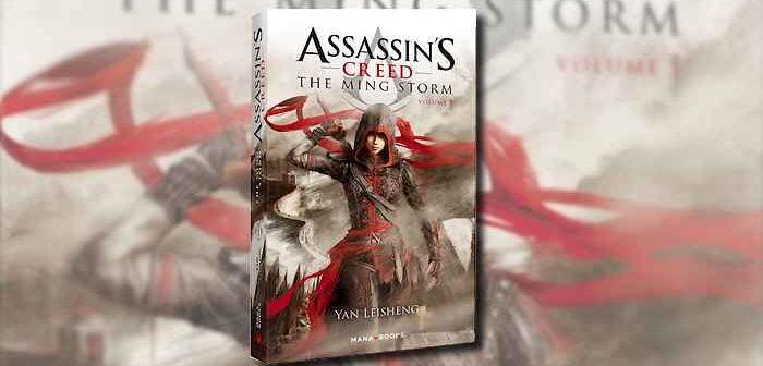 Assassin's Creed the Ming Storm, le nouveau roman de la franchise !