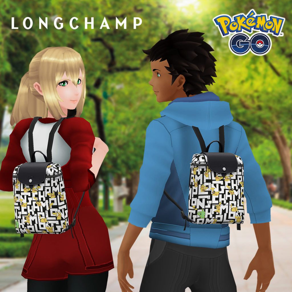 Pokémon Go se fait fashion avec Longchamp Paris !