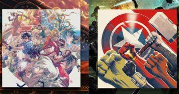Marvel's Avengers & Street Fighter III en vinyles