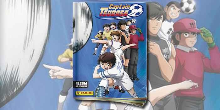 L'album de stickers Panini Captain Tsubasa, en vente !