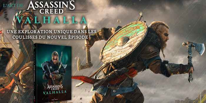 L'artbook : L'art de Assassin's Creed Valhalla bientôt disponible !