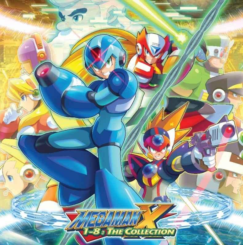 Mega Man X 1-8 The Collection le must have audio du collectionneur
