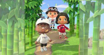 Animal Crossing 3 looks emblématiques in real life avec FILA !