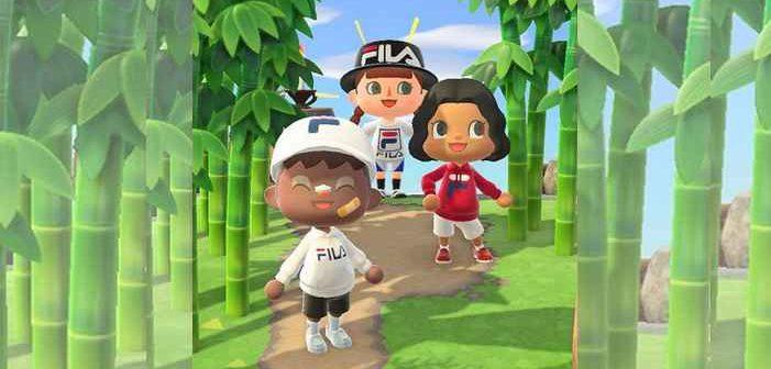 Animal Crossing : 3 looks emblématiques in real life avec FILA !