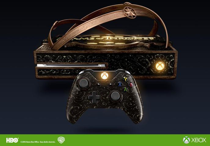 La Xbox One Edition limitée Game of Thrones _Microsoft HBO