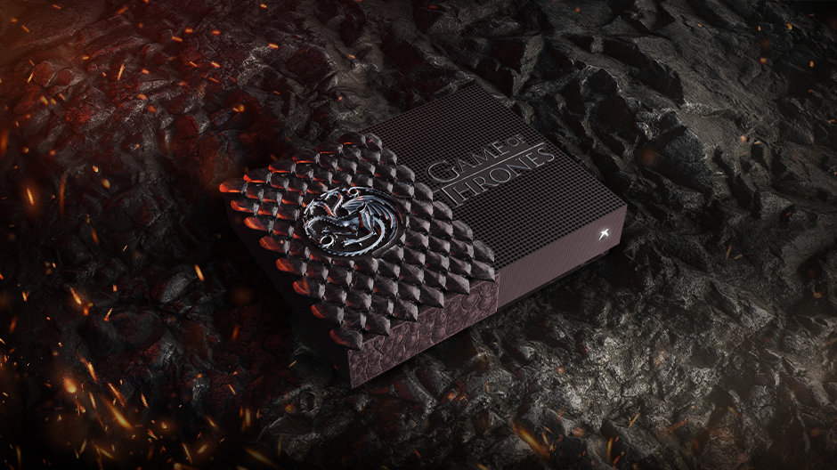 La Xbox One S All Digital – Game of Thrones Édition Targaryen et Night King