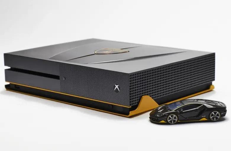 La Xbox One S Forza Horizon 3 Mustang, Audi R8 et Lamborghini Centenario