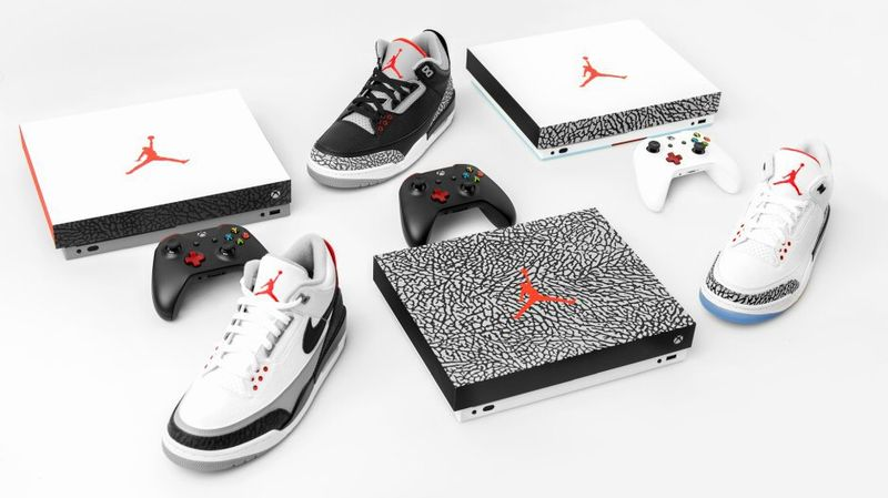 La Xbox One X version limitée Air Jordan III