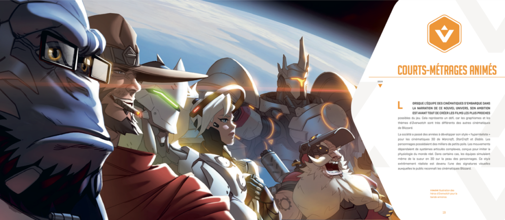 Overwatch Cinematic Art disponible chez Mana Books_