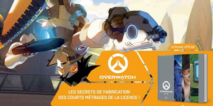 Overwatch Cinematic Art : disponible chez Mana Books !