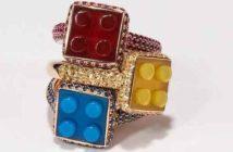 Chic et luxe, des Lego en nouvelles pièces de joaillerie_