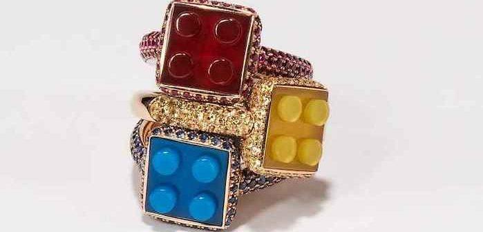 Chic et luxe, des bijoux Lego !