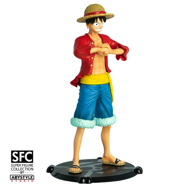 Luffy de One Piece a sa figurine ABYstyle_