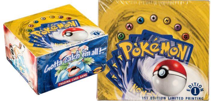 Record d'enchère pour ces cartes Pokémon !