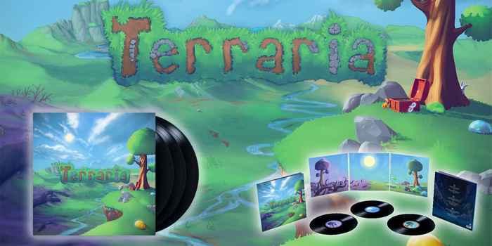 Terraria enregistré au format vinyle !